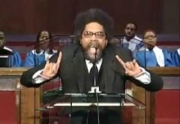 Dr. Cornel West at Oakwood University